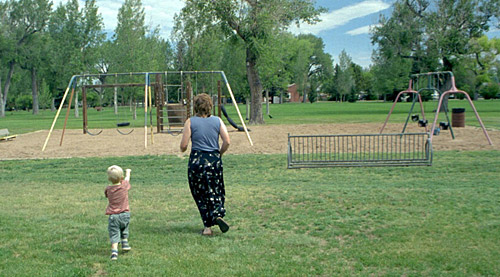 While in Laramie, Jenn and I stepped through memory lane and revisited our old haunts. This is a playground that we remembered taking Josie and Jaren to play. It was quite strange to be back with our own son.